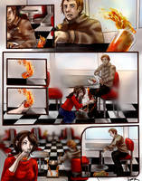 Commission: Super Speed Comic Page by 7AirGoddess3