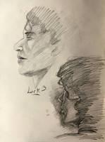10 min. portrait studies by 7AirGoddess3