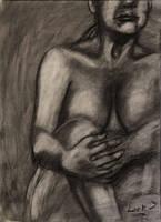 Female nude study - 40 min. by 7AirGoddess3
