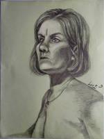 Portrait study by 7AirGoddess3