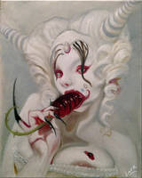 Homework study of Michael Hussar's Daddy's Girl by 7AirGoddess3
