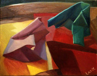 Colored paper Still life by 7AirGoddess3