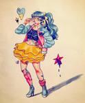 Inktober day 8 - pastel pop by 7AirGoddess3