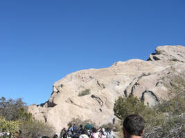 Vasquez Rocks - Face Rock by 7AirGoddess3