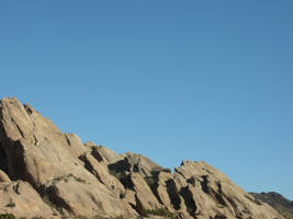 Vasquez Rocks-Big formation... by 7AirGoddess3