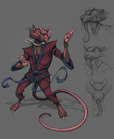 Master Splinter by Teratophile