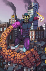Super Skrull by Teratophile