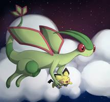 Yay, I can fly! by SHINXxPOOCHYENA