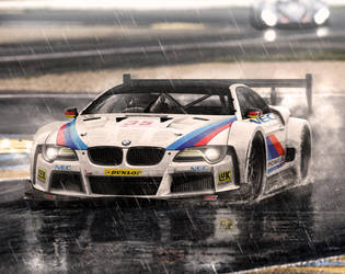 24H le mans BMW concept by hugosilva