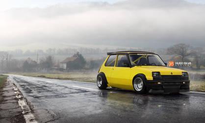 Renault 5 MK1 by hugosilva