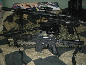 My Paintball marker collection by Delta9-11