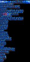 Mega Man 7 style Mega Man playable character sheet by ZEDIC0N