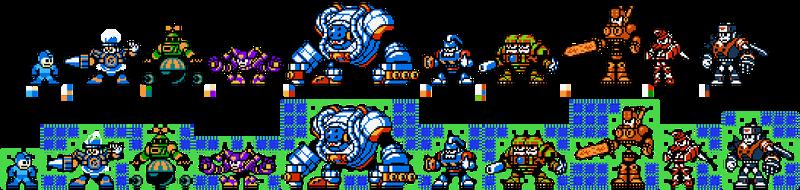 Mega Man 8 in 8-bit by ZEDIC0N