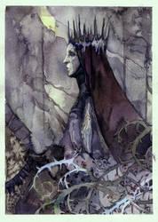 elven queen by Hekkil