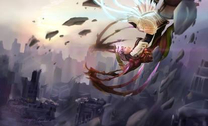 Heroes of the Storm by xbluephantomx