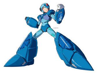 Chogokin Giga Armor X normal armor Color by Essai