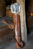 Saxon Arrows and Quiver by LughoftheLongArm
