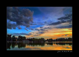 A Tranquil Evening by kkart