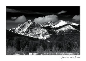 Winter In The Rockies by kkart