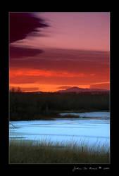 The Burning Skies of Winter by kkart