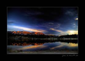 A Sunrise on Lake Estes by kkart