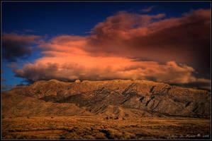 As Dusk Approaches the Desert by kkart