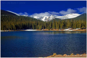 Echo Lake Landscape by kkart
