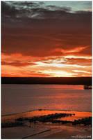 Sunrise Over The Marina by kkart