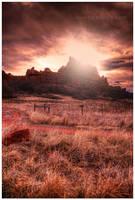 Desert Daybreak by kkart