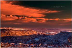 A Sunrise Over Golden by kkart