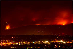 Boulder Ablaze by kkart