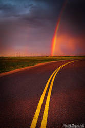 Roads And Rainbows by kkart