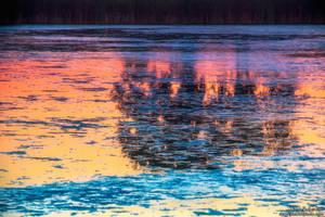 Sunrise Reflections by kkart