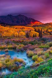 The Brilliance Of An Autumn Dawn by kkart
