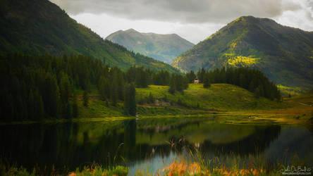 Mountain Serenity by kkart