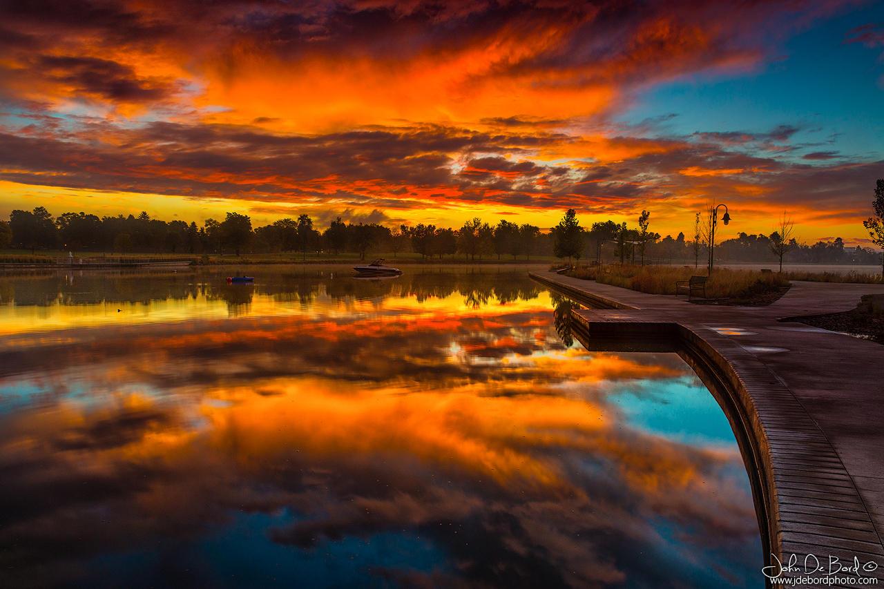 A Fall Sunrise by kkart