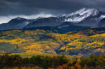 Snow Clouds Over Kebler Pass by kkart