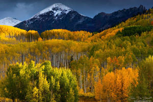 Autumn Comes To The Ruby Range by kkart