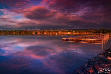 Skies Of Golden Hour by kkart