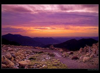 Alpine Tundra Sunrise by kkart