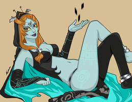 Midna Pinup by Injectable