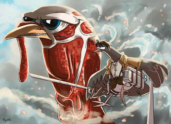 Attack On Turkey by Adlynh