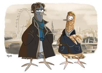 Elementary my dear pigeon by Adlynh
