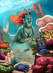 Mermaid by charco