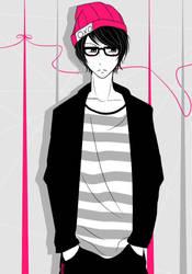 Nameless OC-kun [Gift] by xMinee