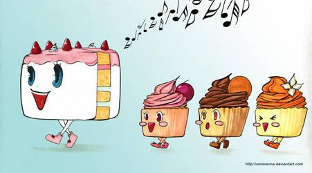 Cupcake Family by umimarina