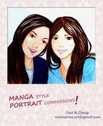 Portrait Comission by umimarina