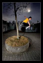 Rollerblading: Treetap I by nofreename