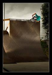 BMX Contest - Wallride 1 by nofreename