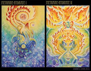 Methane Hydrate I and II by mythfits